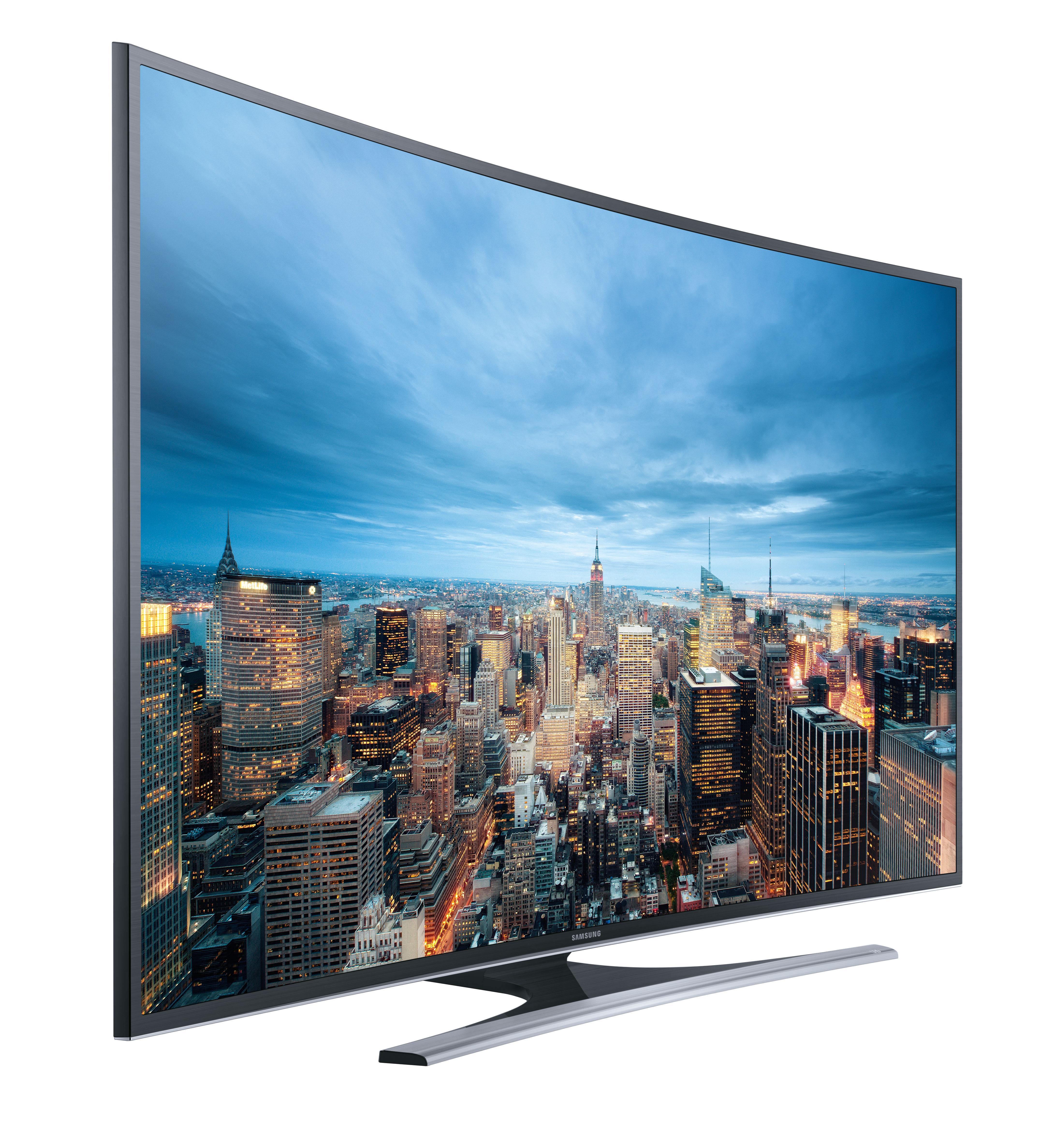 samsung ju6560 163 cm 65 zoll curved fernseher ultra hd triple tuner smart tv. Black Bedroom Furniture Sets. Home Design Ideas