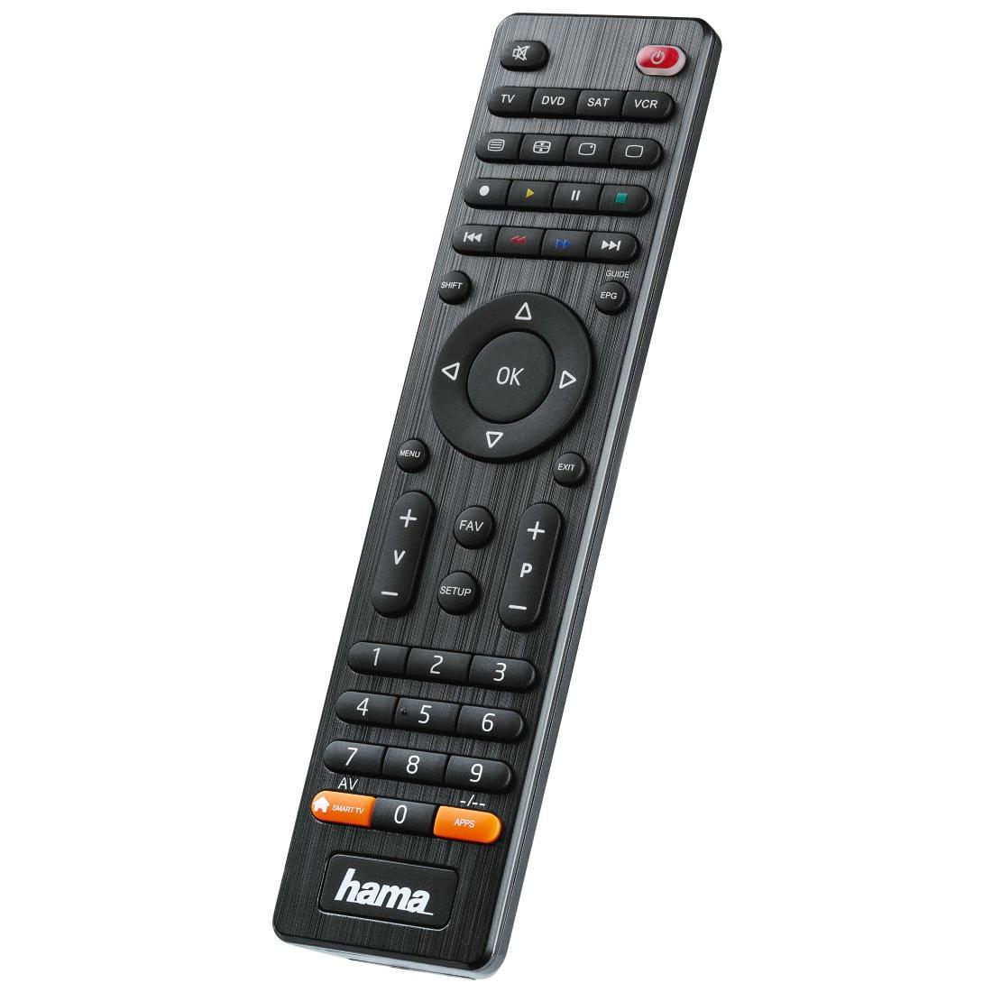 Hama Universal Fernbedienung 4-in-1 Smart TV schwarz