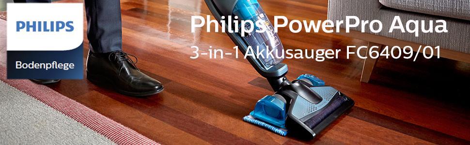 Philips PowerPro FC640901 Aqua Handstaubsauger