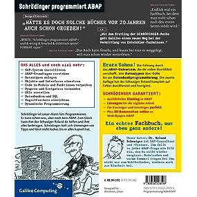 Schrödinger programmiert ABAP – Umschlagrückseite