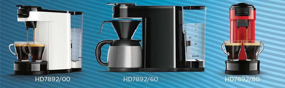 senseo hd7892 80 switch 2 in 1 kaffeemaschine. Black Bedroom Furniture Sets. Home Design Ideas