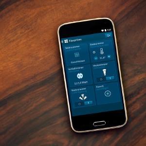 bosch smart home raumklima starter set mit app funktion. Black Bedroom Furniture Sets. Home Design Ideas