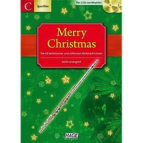 Merry Christmas für Querflöte + Oboe: Ausgabe für C
