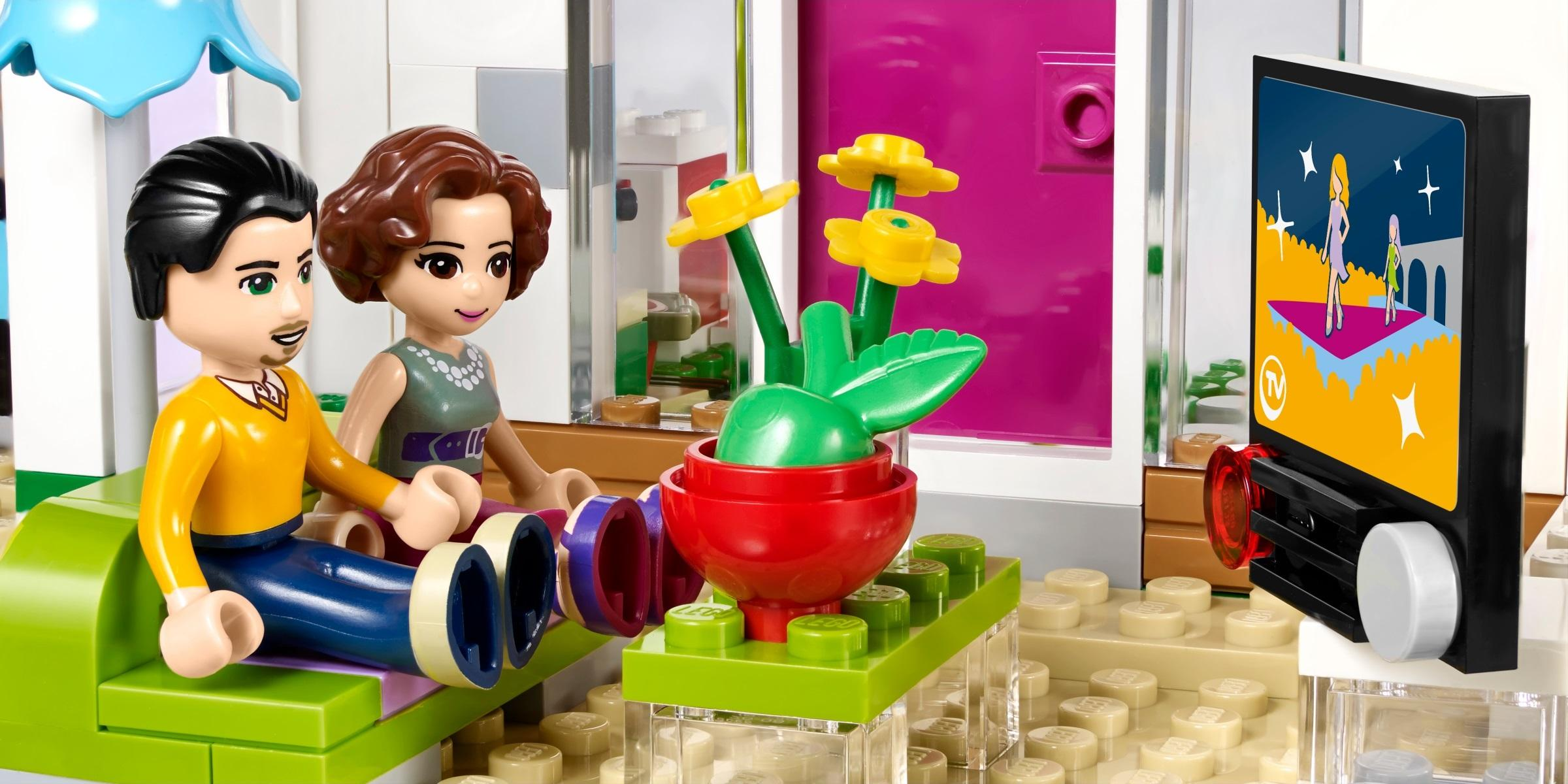 LEGO Friends 41095  Emmas Familienhaus Amazonde Spielzeug