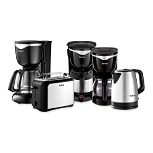 tefal ci4408 thermo kaffeemaschine 8 12 tassen 870 watt schwarz edelstahl. Black Bedroom Furniture Sets. Home Design Ideas