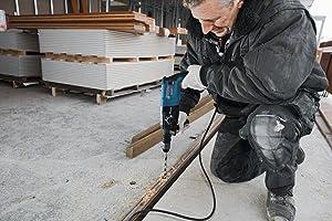 Der GBH 2-28 DFV ermöglicht einen schnellen Wechsel zwischen Arbeiten in Beton, Holz oder Metall.