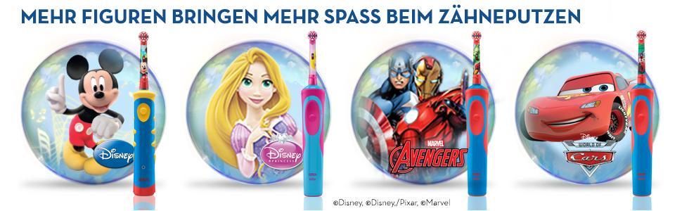 Oral-B Stages Power elektrische Zahnbürste für Kinder