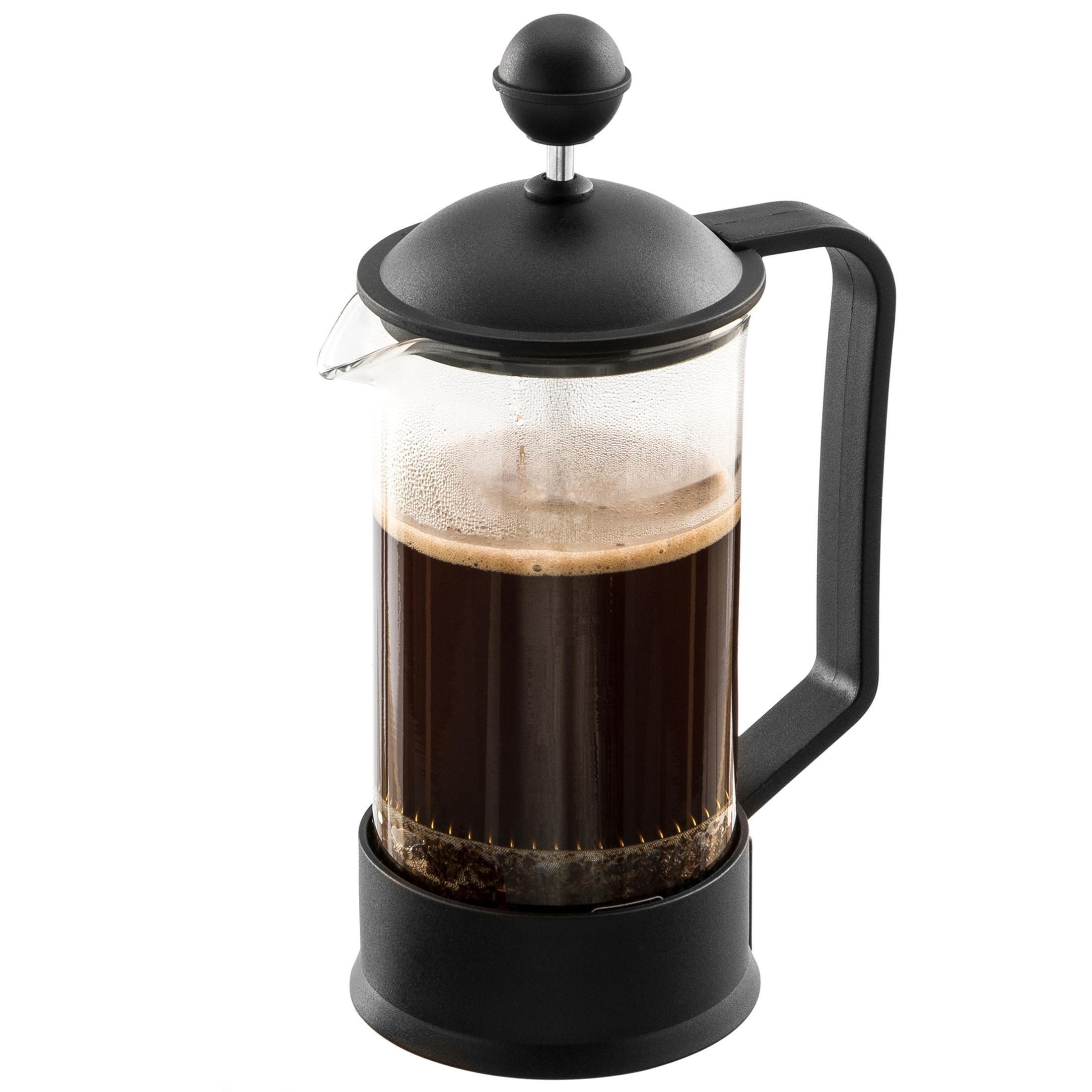levivo reise kaffeebereiter kleine stempelkanne mit french press system 0 35 l. Black Bedroom Furniture Sets. Home Design Ideas