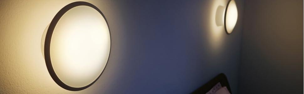 philips hue led wandleuchte phoenix erweiterung f r alle starter sets dimmbar alle. Black Bedroom Furniture Sets. Home Design Ideas