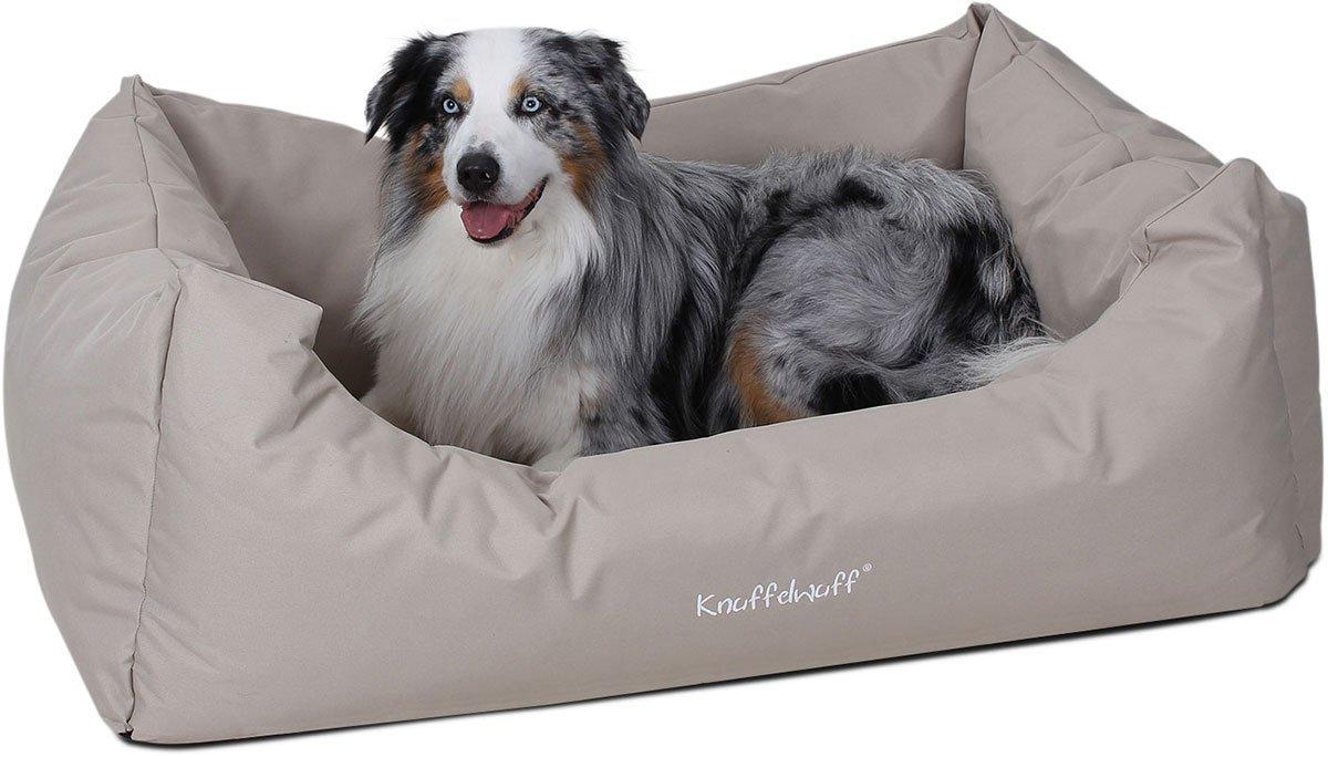 knuffelwuff 13088 wasserfestes pflegeleichtes hundebett finlay gr e xxl 120 x 85 cm beige. Black Bedroom Furniture Sets. Home Design Ideas