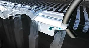 Nanopolierte 30° Klingen