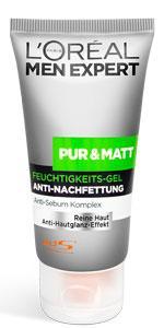Pur-Matt-Feuchtigkeitsgel Anti-Nachfettung