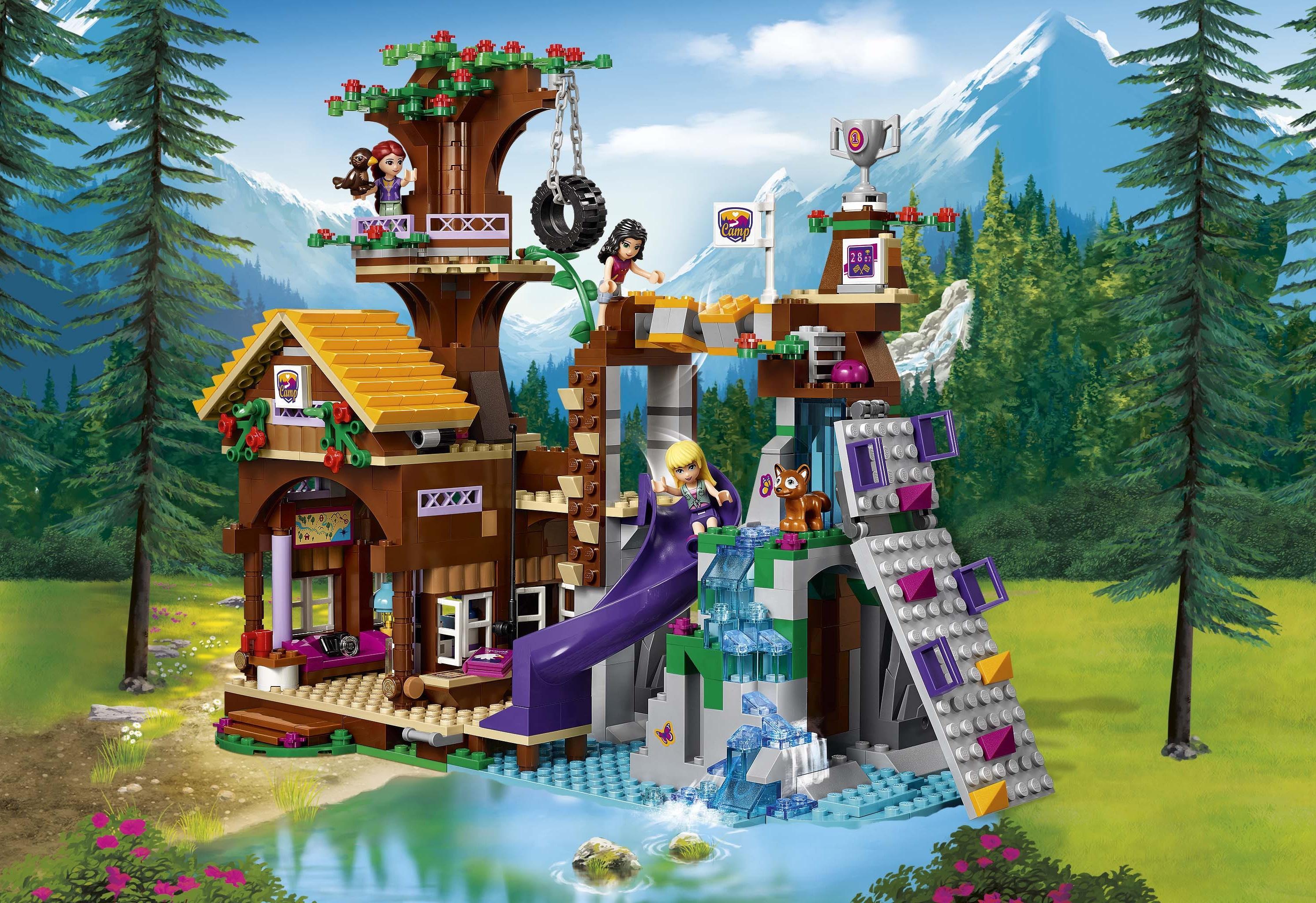 Lego friends 41122 abenteuercamp baumhaus for Amazon casa