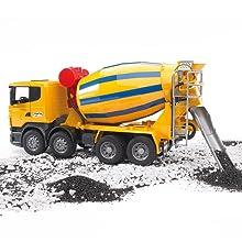 Scania Betonmisch-LKW von Bruder