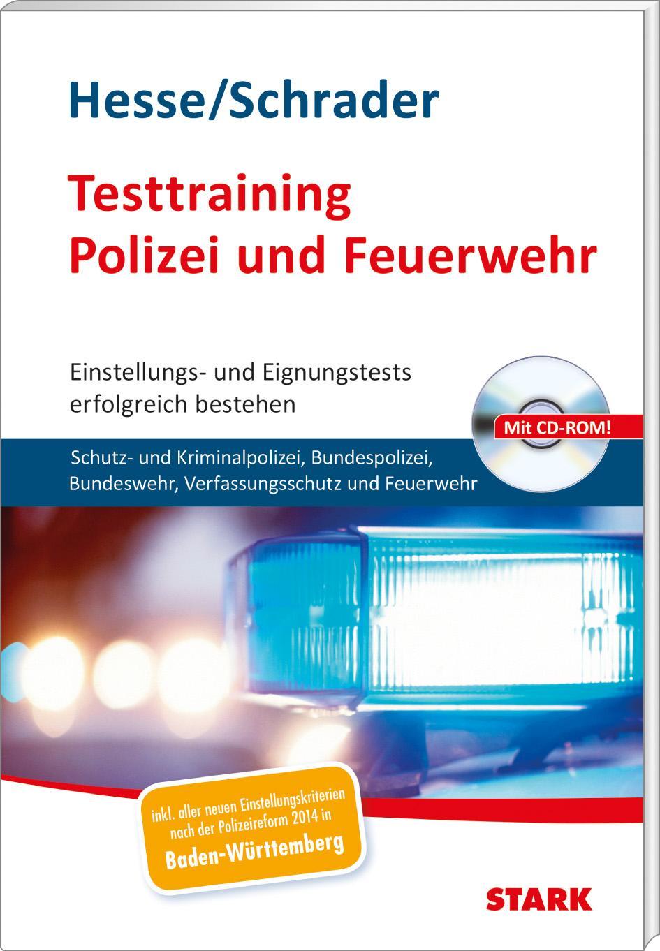 hesseschrader testtraining polizei und feuerwehr - Bewerbung Berufsfeuerwehr
