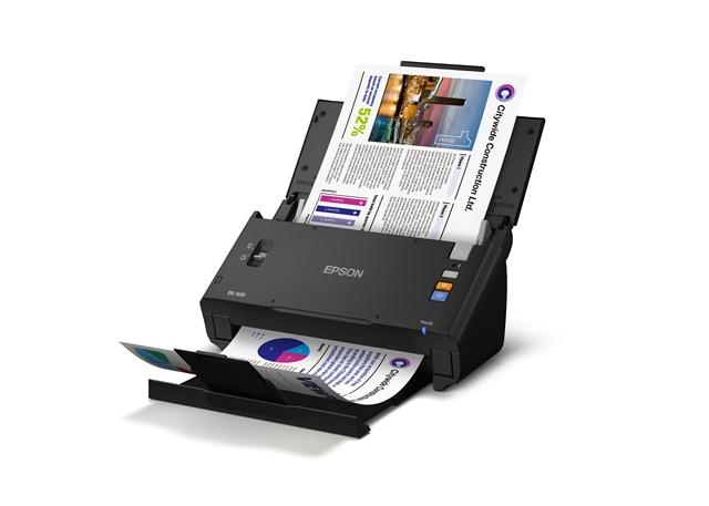 Epson WorkForce DS-520 DIN A4 Dokumentenscanner (600 DPI