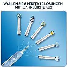 Braun Oral-B PRO 600 Cross Action elektrische Zahnbürste