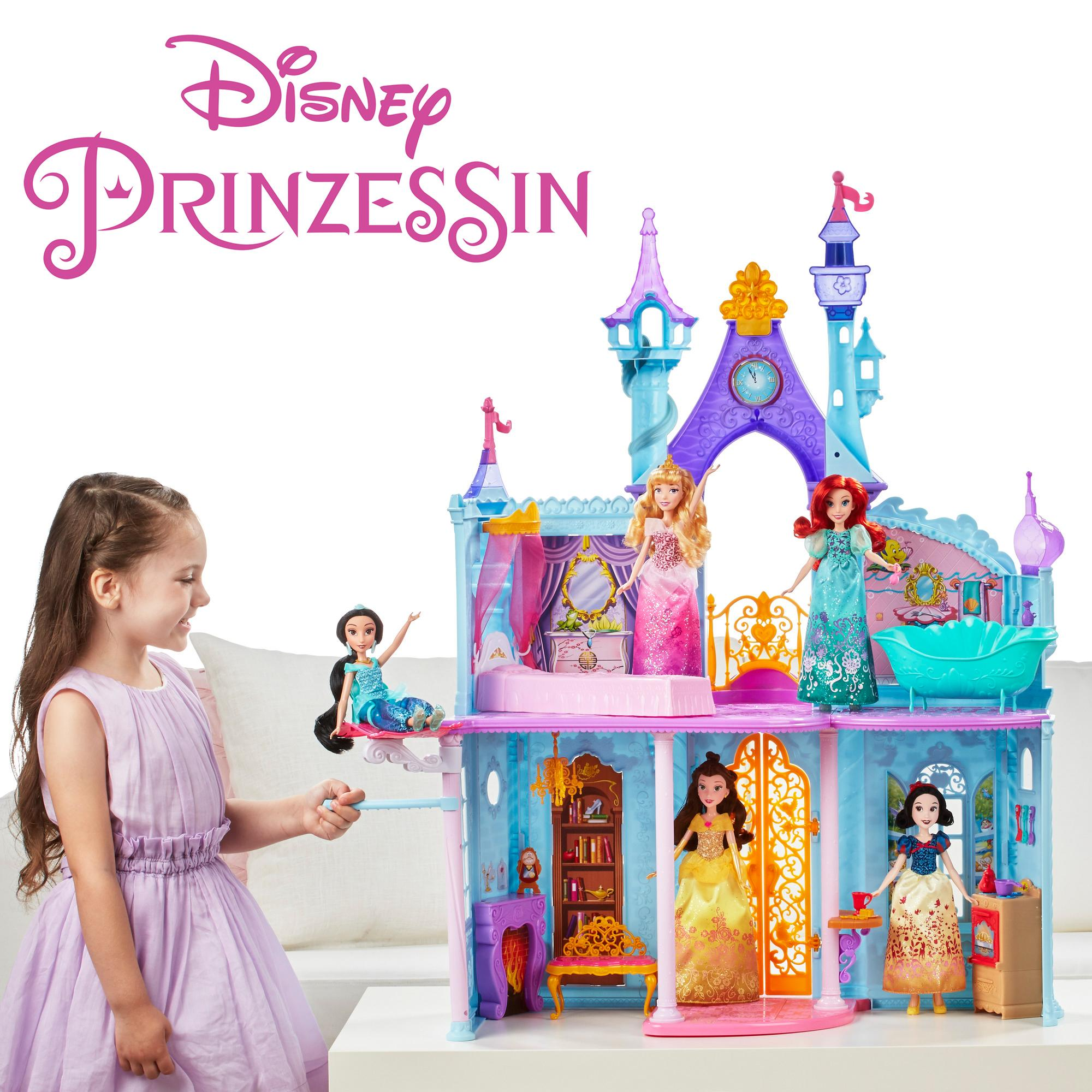 hasbro disney prinzessin b8311eu4 bezauberndes m rchenschloss spielset spielzeug. Black Bedroom Furniture Sets. Home Design Ideas