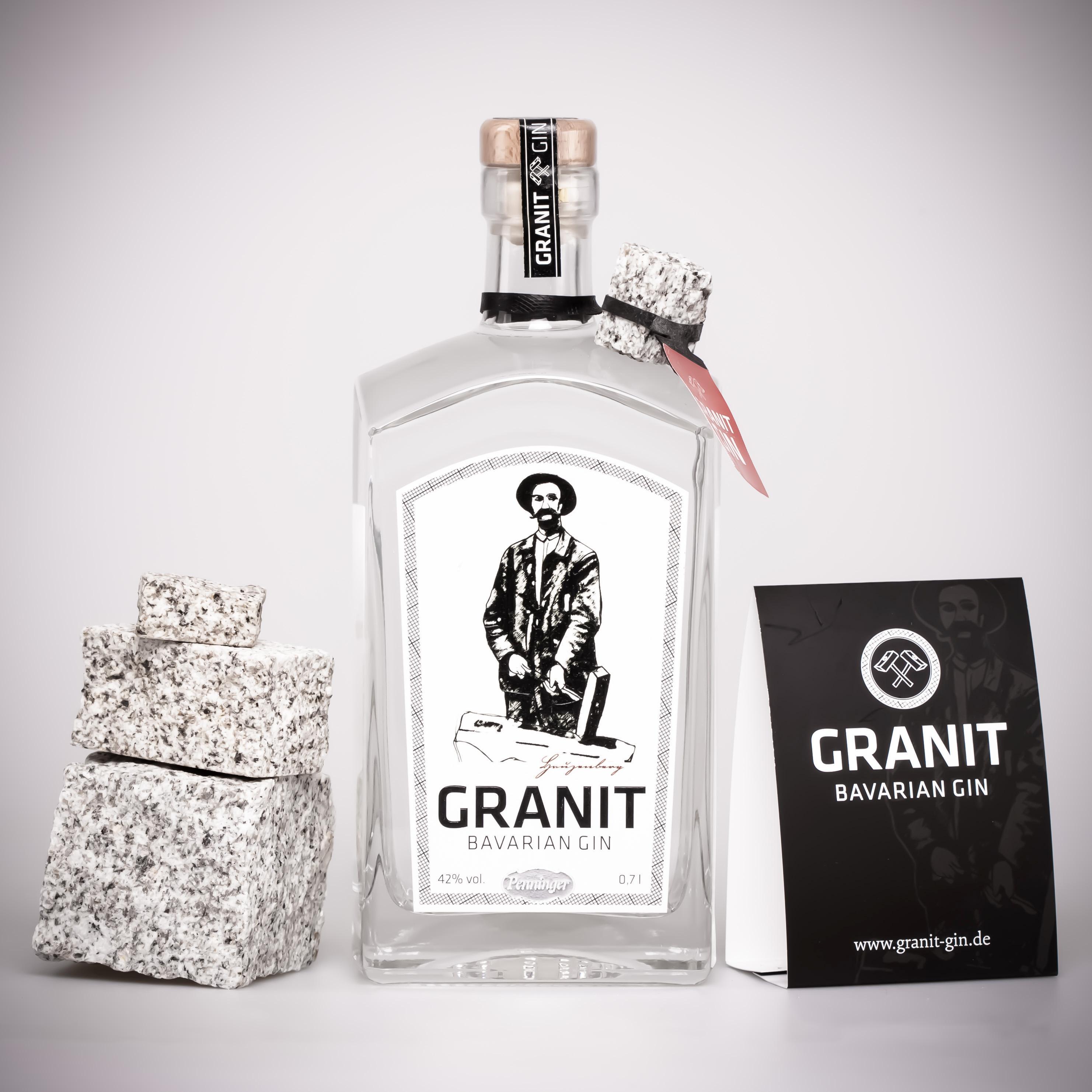 Granit Bavarian Gin (1 x 0,7 l): Amazon.de: Bier, Wein