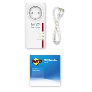 FRITZ!Powerline 520E Lieferumfang