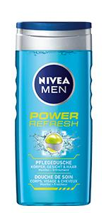 NIVEA MEN POWER REFRESH PFLEGEDUSCHE