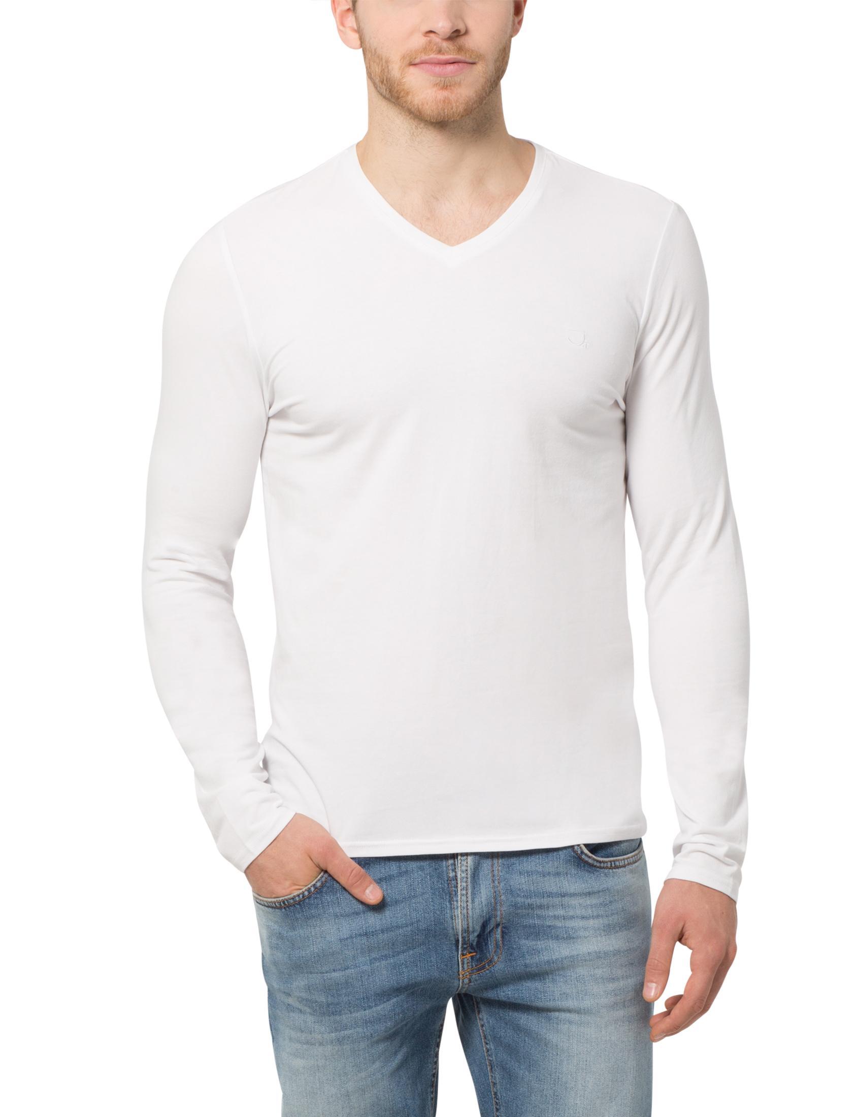james tyler herren langarmshirt mit v ausschnitt amazon. Black Bedroom Furniture Sets. Home Design Ideas