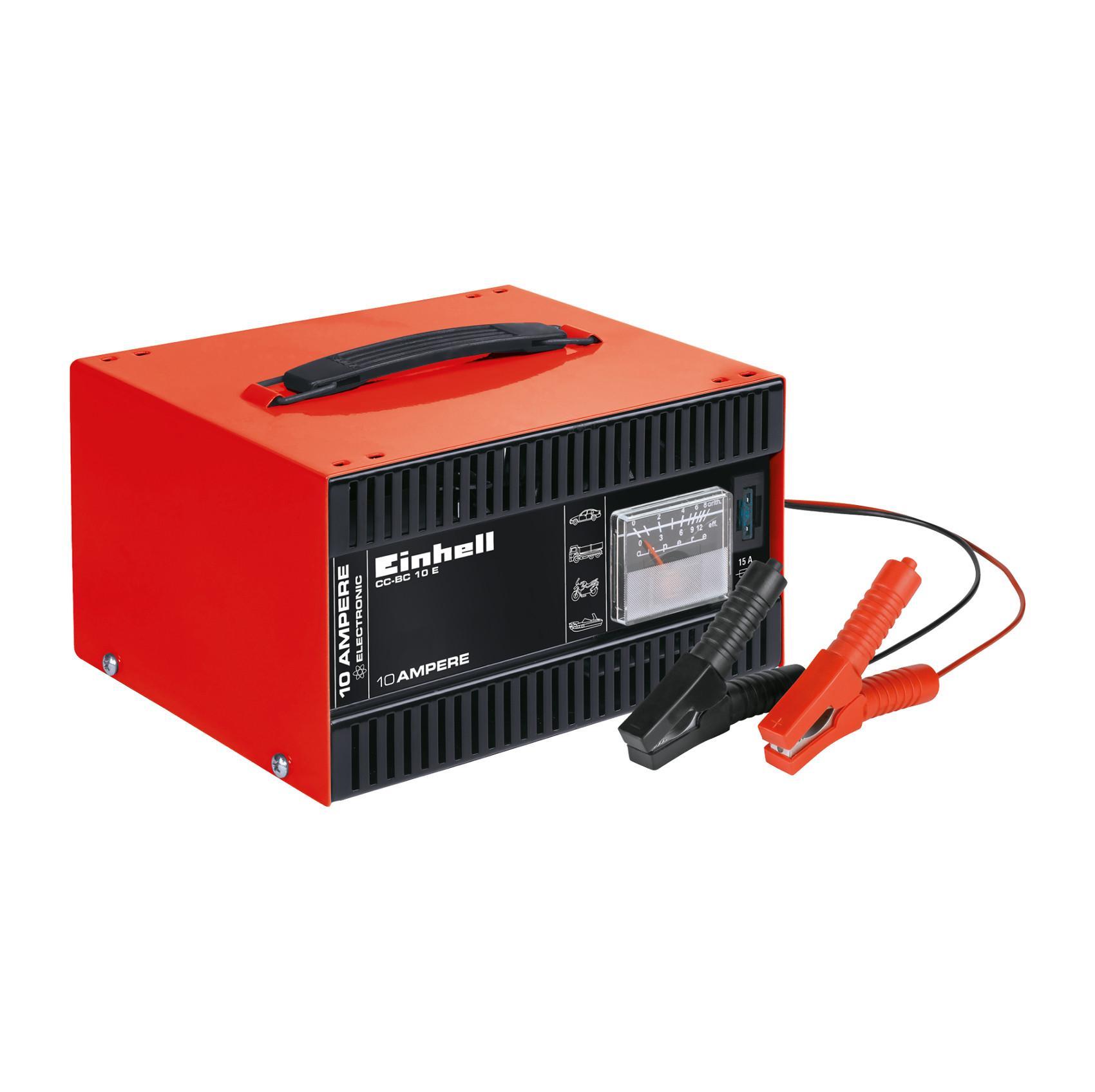 Einhell Batterie-Ladegerät CC-BC 10 E (für Batterien von 5