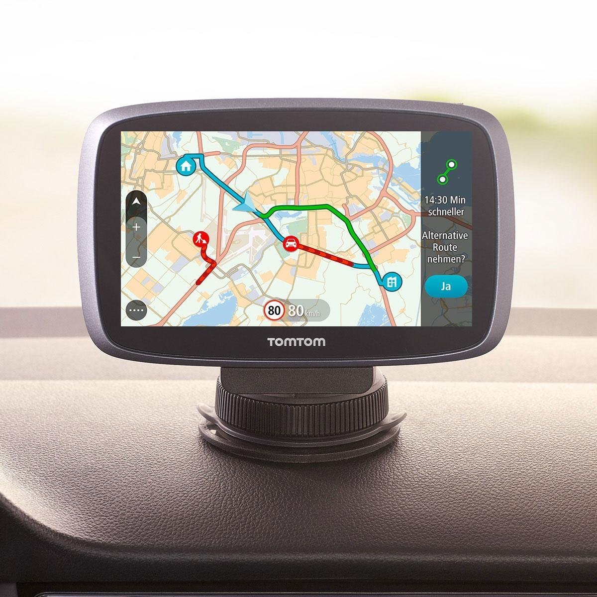 tomtom go 6100 world navigationssystem 6 zoll. Black Bedroom Furniture Sets. Home Design Ideas