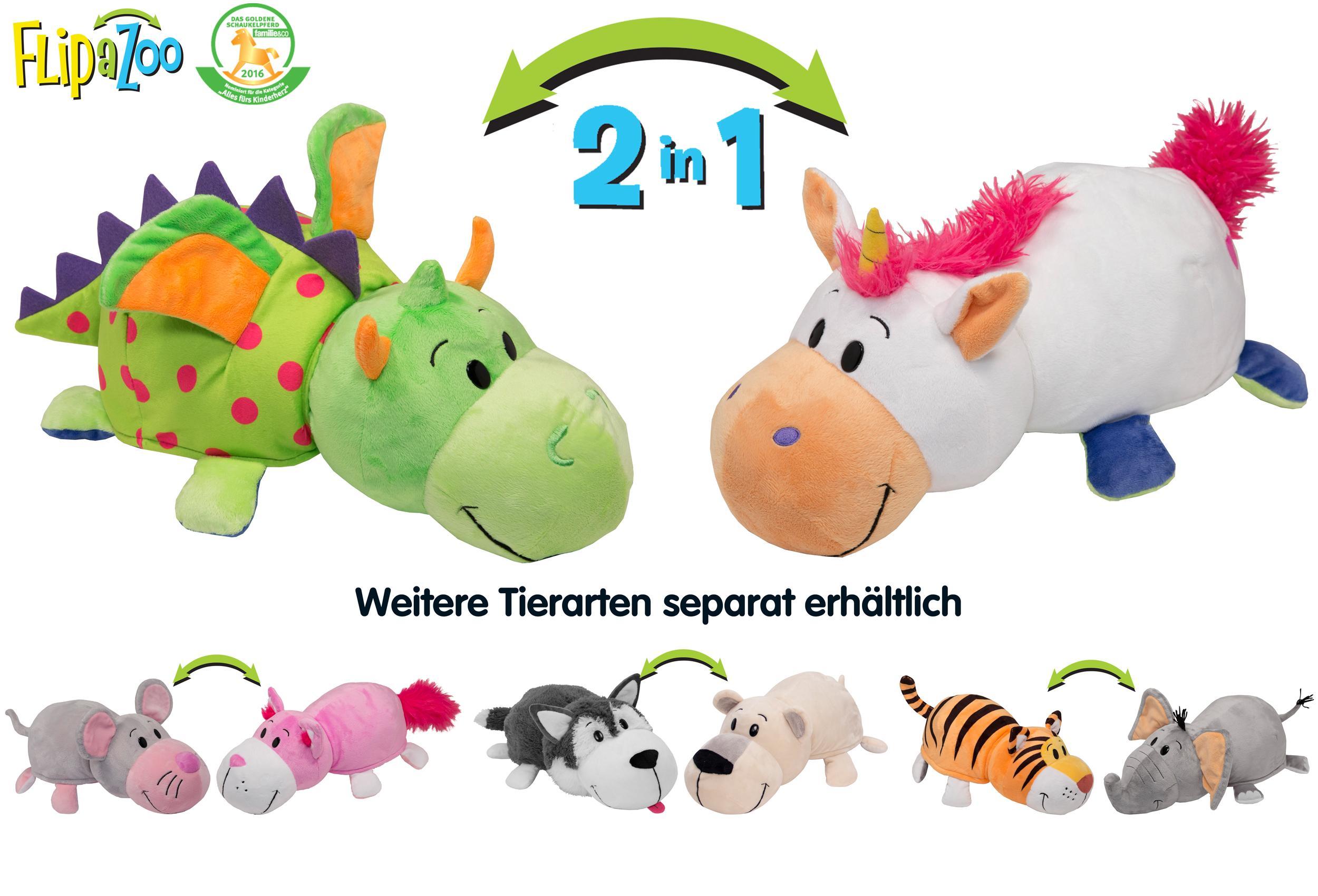 FlipAZoo JA11032.4300 - Einhorn/Drache: Amazon.de: Spielzeug