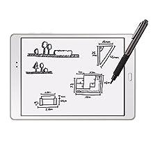 Eingabestift zum Zeichnen und Skizzieren auf Tablet und Smartphone