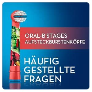 Oral-B Stages Power Aufsteckbürsten