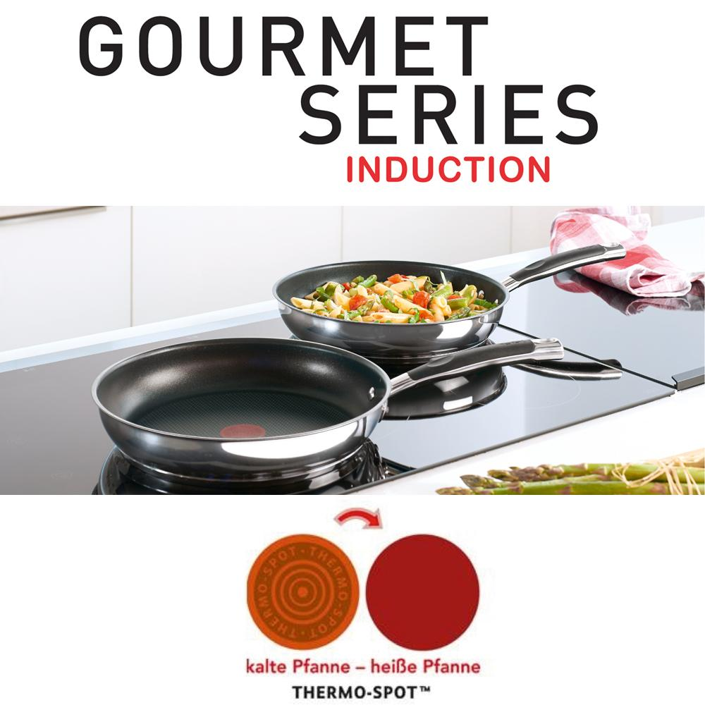tefal e94106 gourmet series pfanne 28 cm k che haushalt. Black Bedroom Furniture Sets. Home Design Ideas