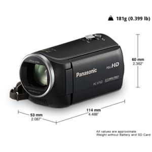 HC-V160 Camcorder Effektives und einfaches Zoomen