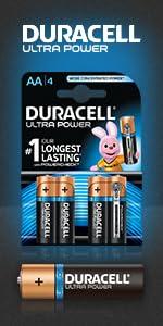 Duracell Ultra Power Batterie