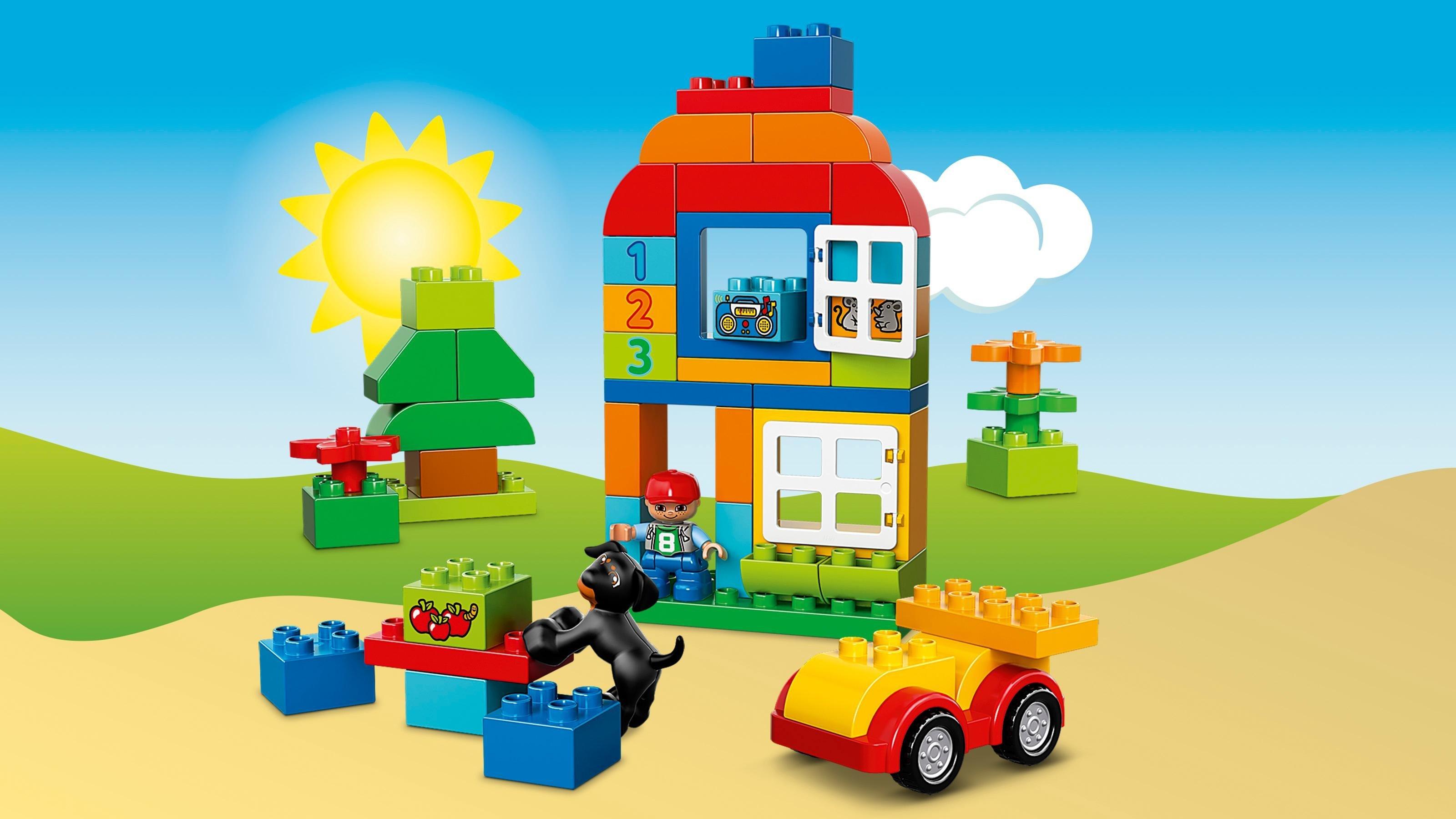 LEGO Duplo 10572 - Große Steinebox, Kreatives
