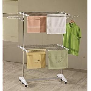one click luxus w schest nder w1020 w schest nder edelstahl e2 mit 2 ebenen 64 x 87 x 147 cm. Black Bedroom Furniture Sets. Home Design Ideas