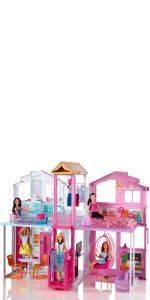 Barbie DLY33 - Die Große Hundesuche Mobil Fahrzeug, Puppen