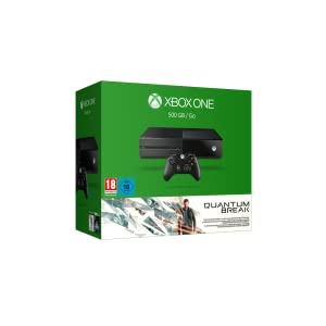 xbox one 500gb konsole bundle inkl quantum break und. Black Bedroom Furniture Sets. Home Design Ideas