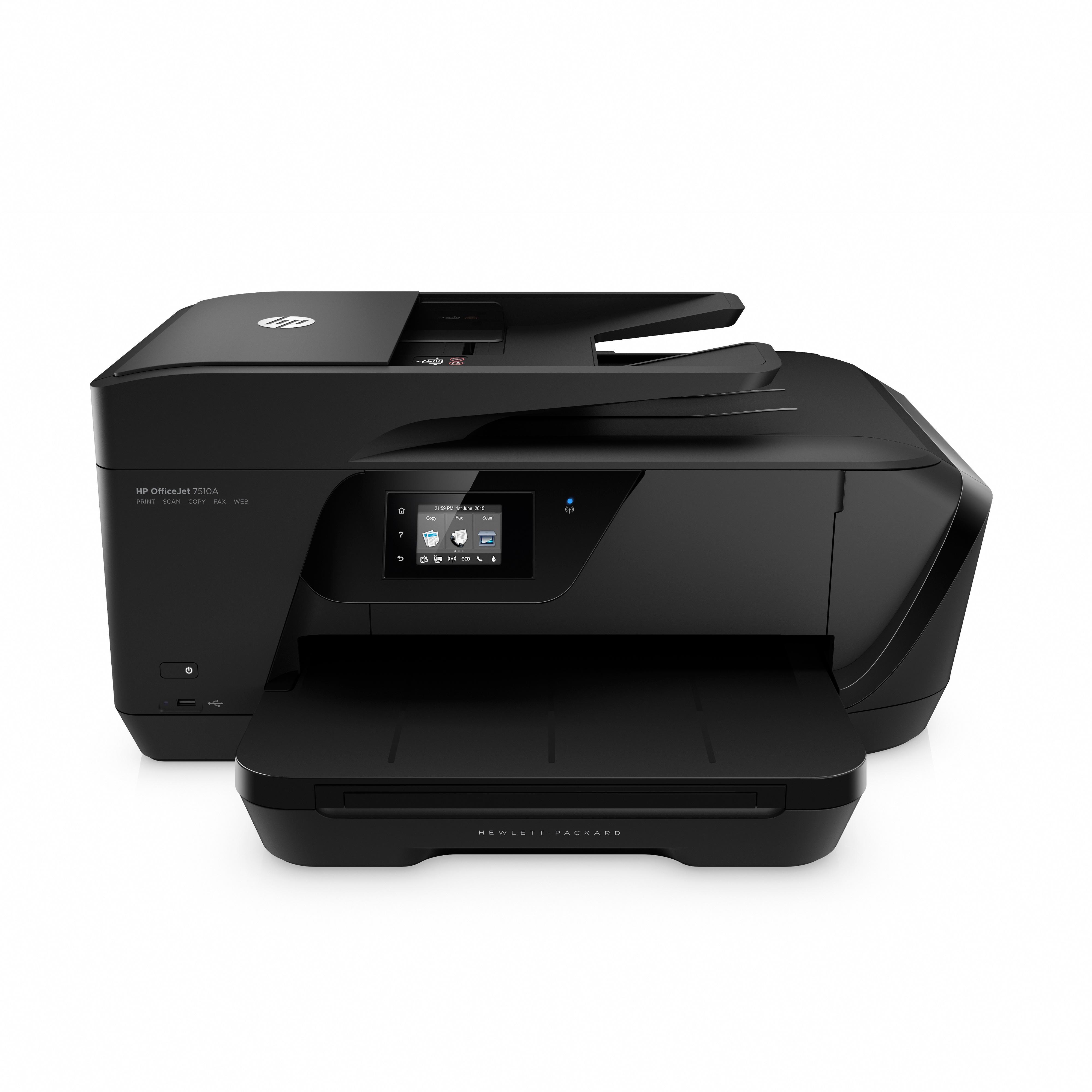 hp officejet 7510 a3 multifunktionsdrucker schwarz amazon. Black Bedroom Furniture Sets. Home Design Ideas