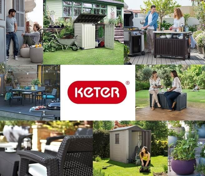 keter ger teschrank wetterfest ger teschrank f r den garten high store grau garten. Black Bedroom Furniture Sets. Home Design Ideas