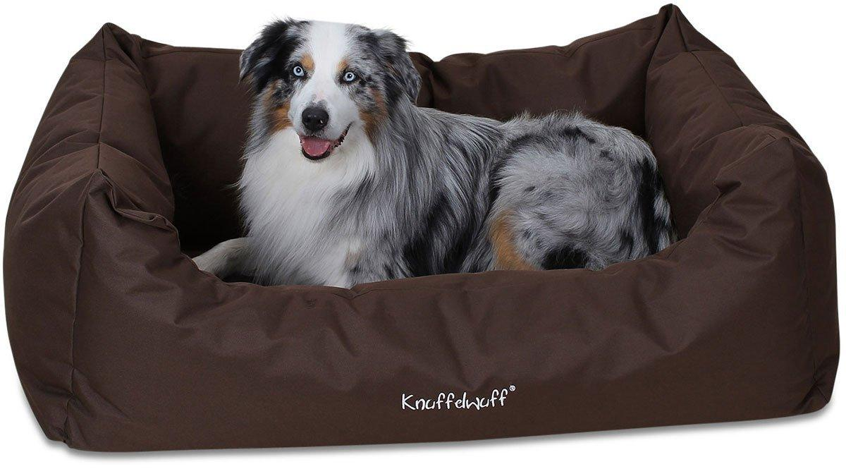 knuffelwuff 12791 wasserfestes pflegeleichtes hundebett finlay gr e xxl 120 x 85 cm braun. Black Bedroom Furniture Sets. Home Design Ideas