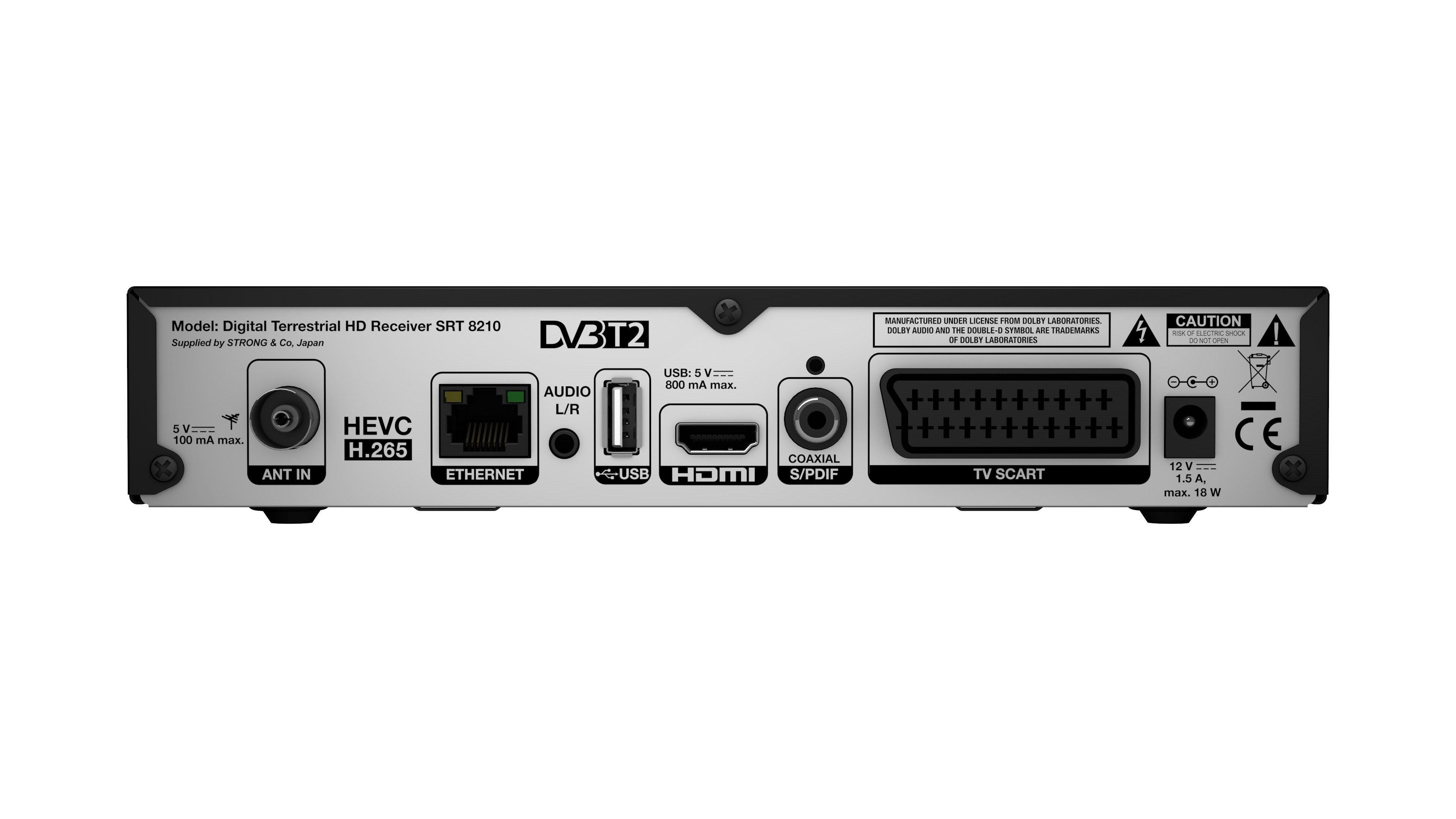 STRONG SRT 8210 ECO Digitaler terrestrischer HD Receiver