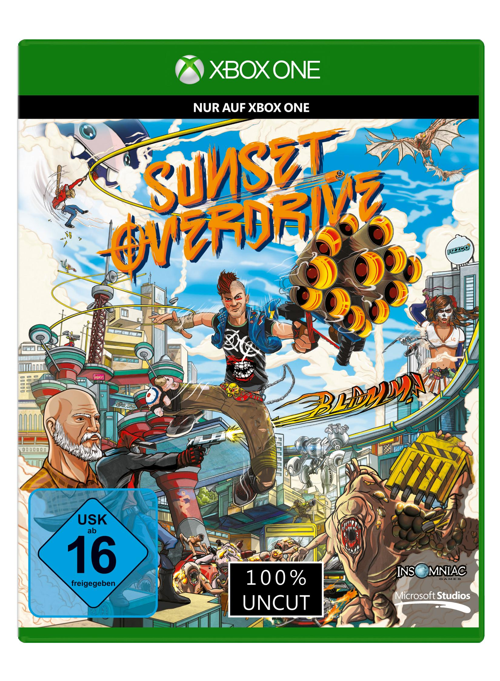 Xbox One Konsole Weiss Inkl Sunset Overdrive Dlc