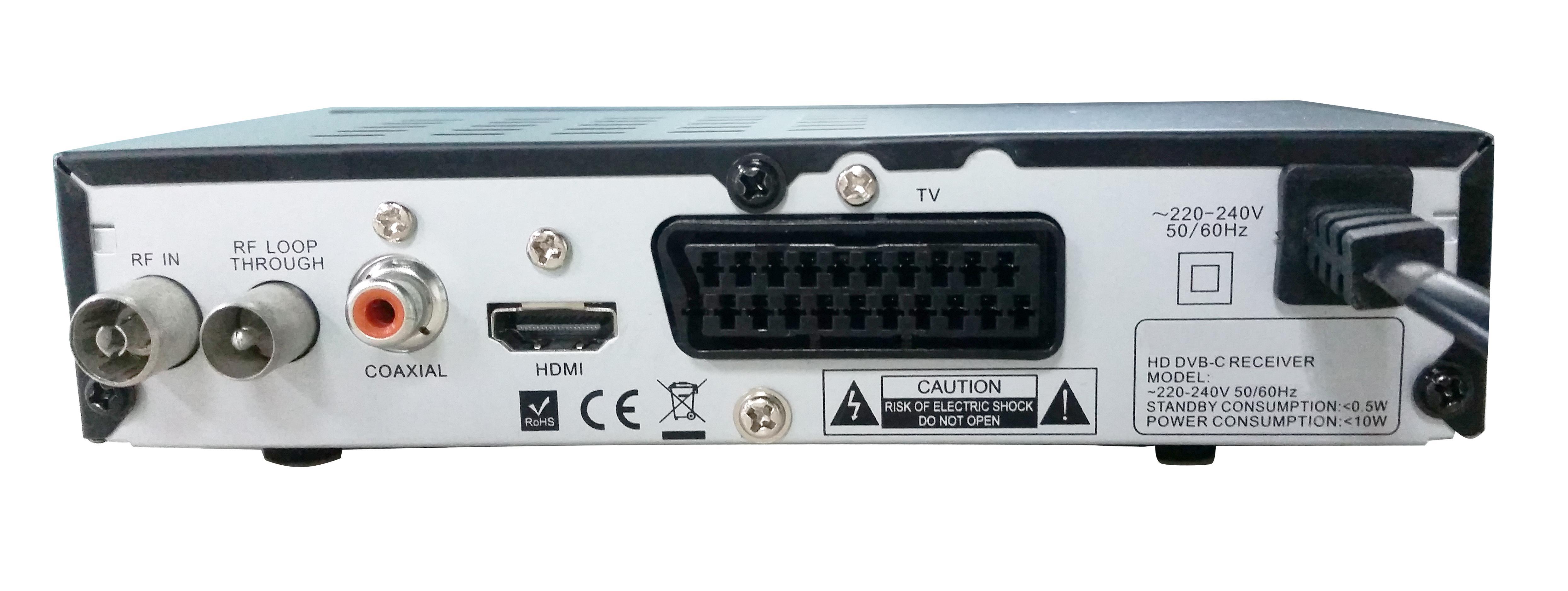 comag dkr40 digitaler hd kabel receiver pvr ready hdtv. Black Bedroom Furniture Sets. Home Design Ideas