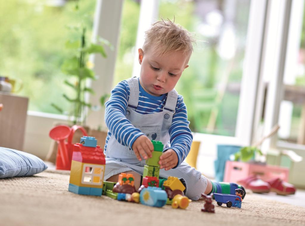 Lego duplo bagger lastwagen kleinkind