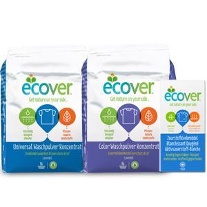 ecover universal waschpulver konzentrat lavendel 4er pack 4 x 1 2 kg drogerie. Black Bedroom Furniture Sets. Home Design Ideas