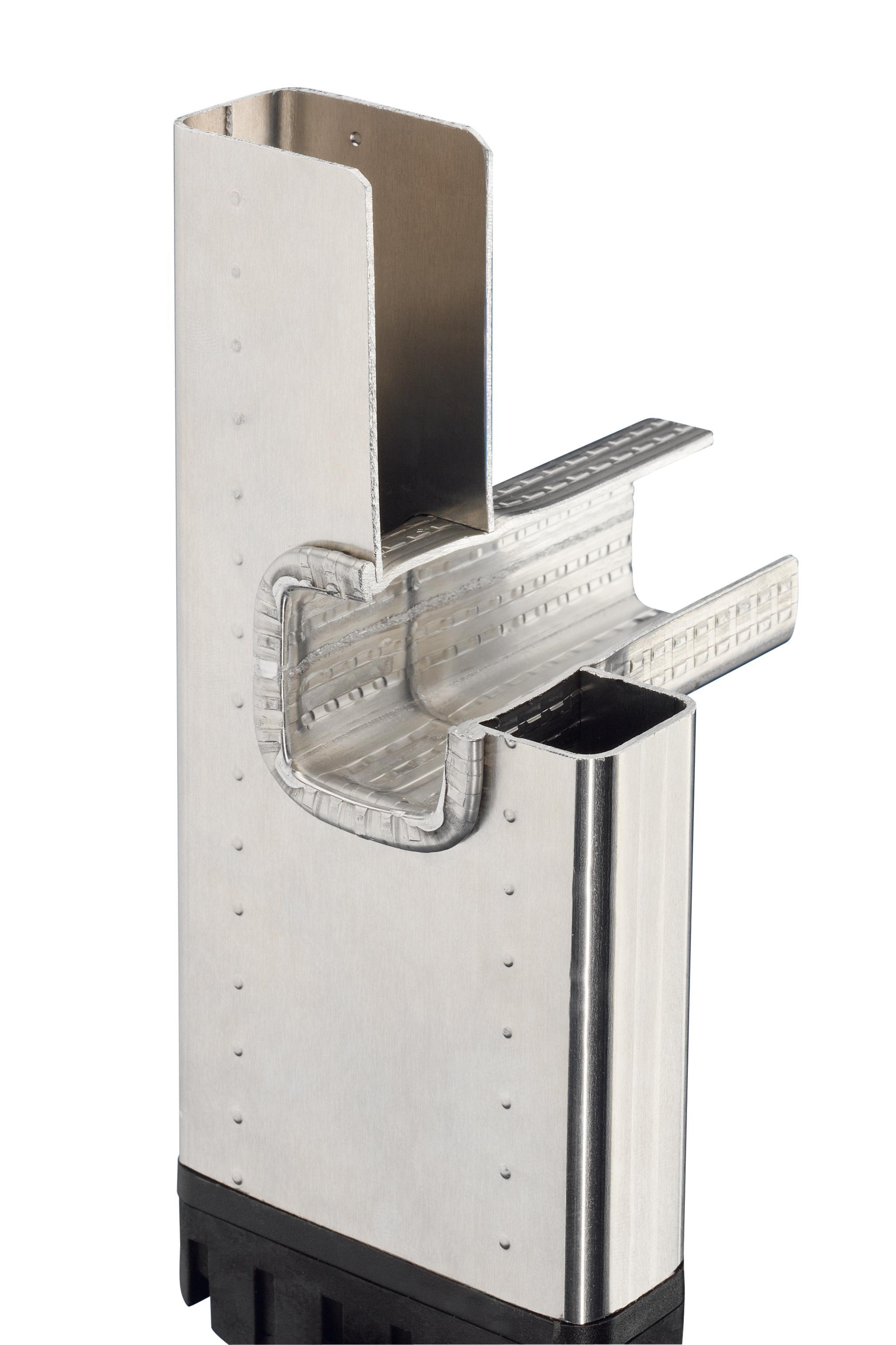 hailo 7106 001 alu anlegeleiter 6 sprossen profistep baumarkt. Black Bedroom Furniture Sets. Home Design Ideas