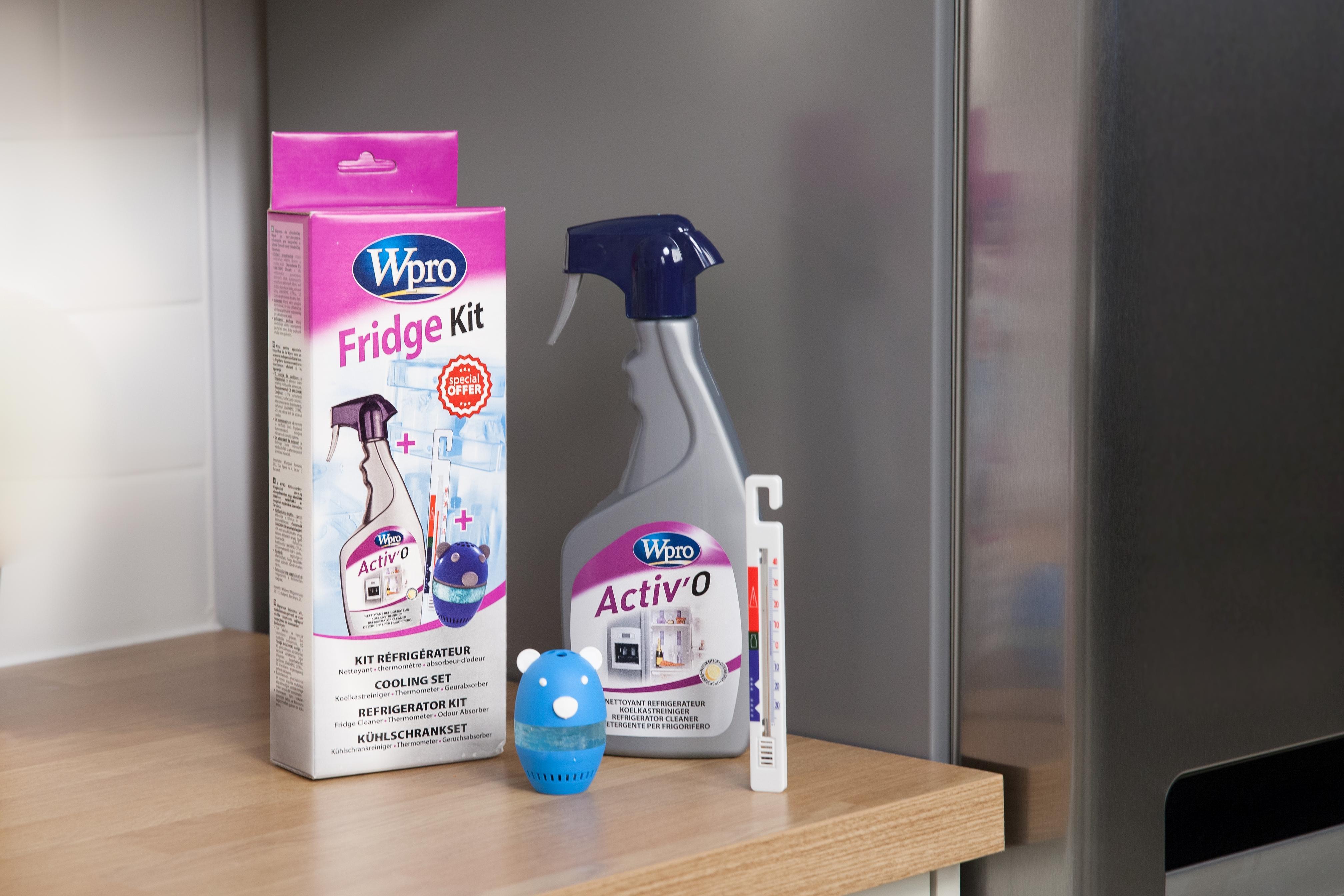 Kühlschrankreiniger : Wpro col013 kühlschrankzubehör kühlen set inklusive