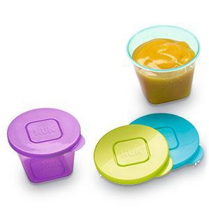 NUK Fresh Foods Frischebehälter, zur Aufbewahrung von Babynahrung