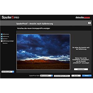 Screenshot SpyderProof